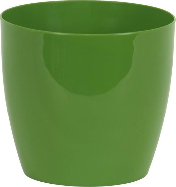 Obal na květiny plastový - barva zelená PLP006-9-5 GRN Art