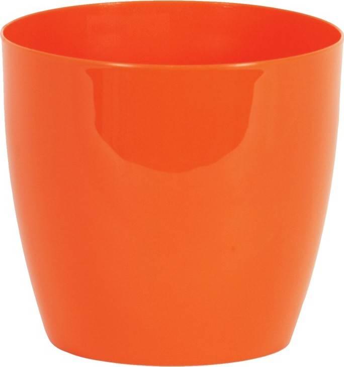 Obal na květiny plastový - barva oranžová PLP006-9-5 ORA Art