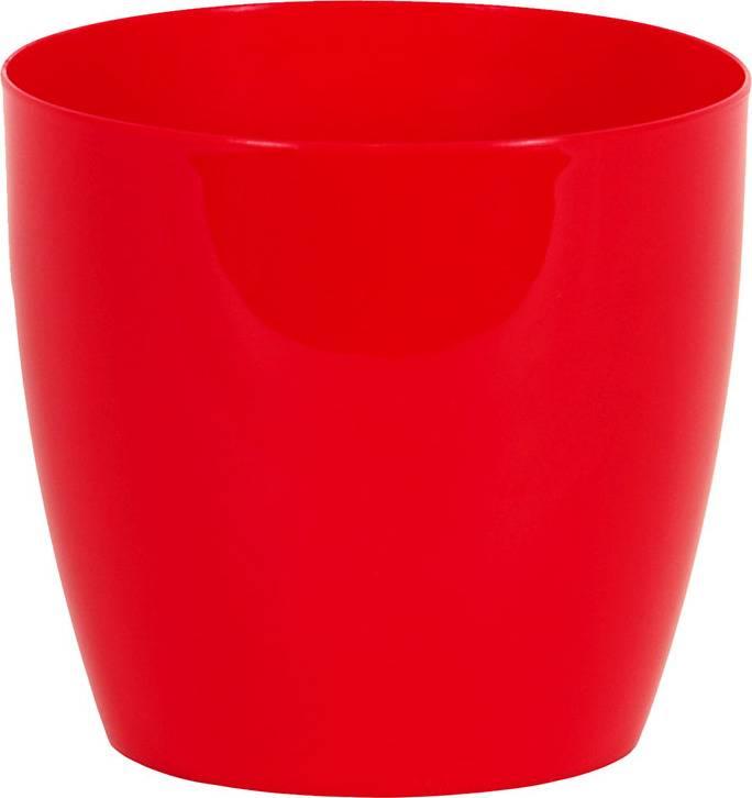 Obal na květiny plastový - barva červená PLP006-9-5 RED Art