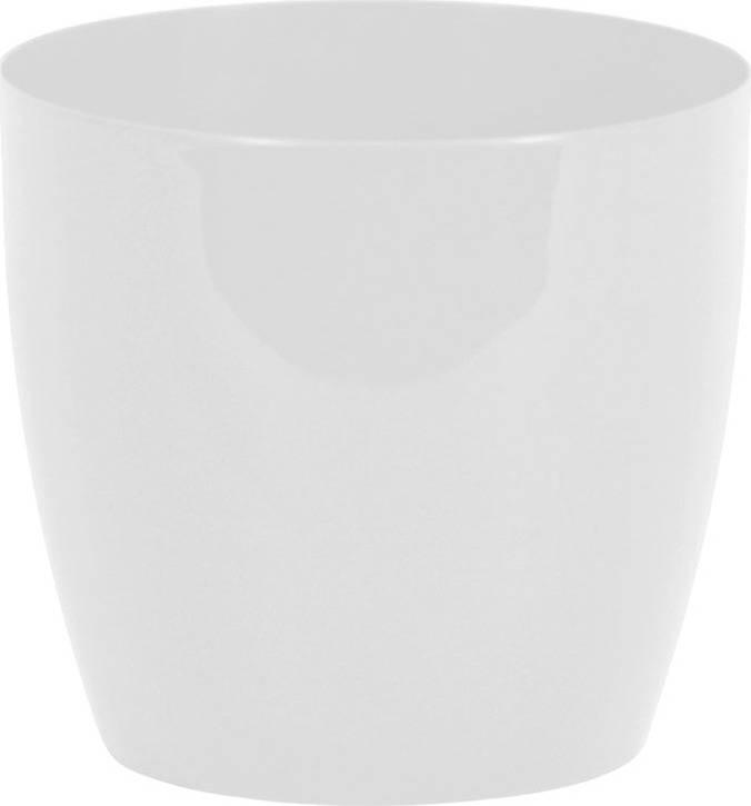 Obal na květiny plastový - barva bílá PLP006-9-5 WHITE Art