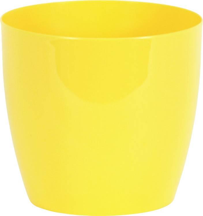 Obal na květiny plastový - barva žlutá PLP006-9-5 YEL Art