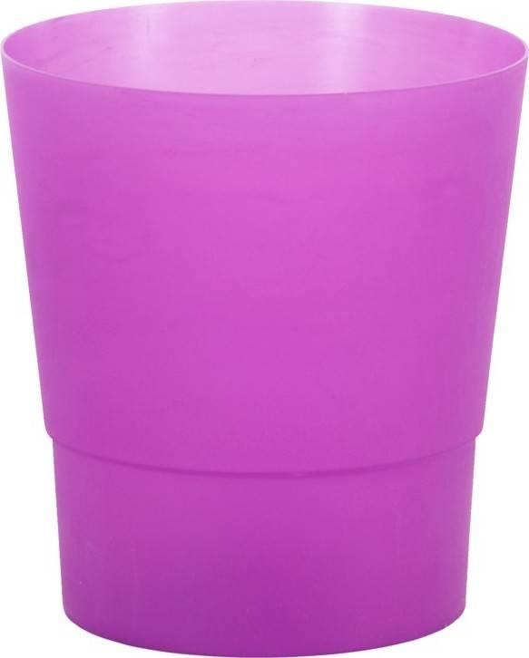 Obal na orchideje plastový - barva fialová PLP007-14 PUR Art