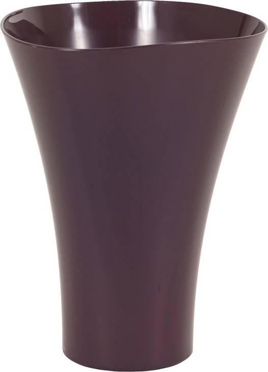 Obal na orchideje plastový - barva fialová PLP009-2 PUR Art