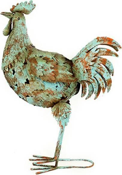 Kohout, kovová dekorace RZ3003 Art