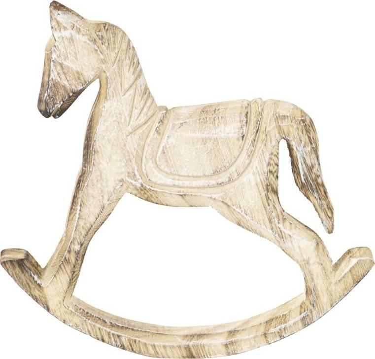 Dřevěný houpací kůň SHA627546 Art