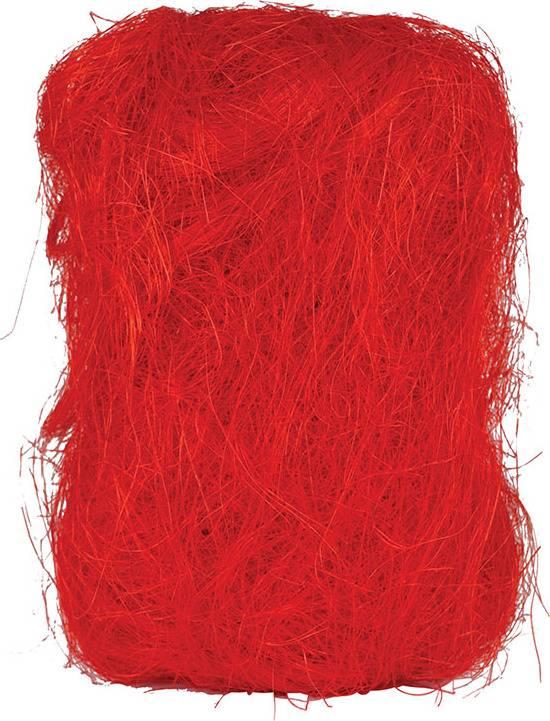 Sisálové vlákno 25g SIS-25-CERVENA Art