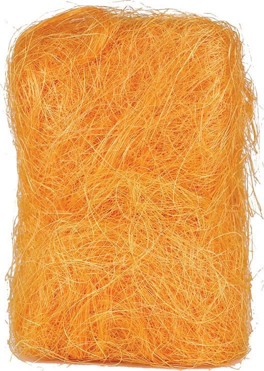 Sisálové vlákno 25g SIS-25-ZLUTO-ORANZOVA Art