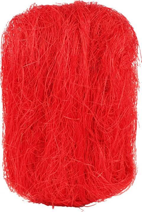 Sisálové vlákno 500g SIS-500-CERVENA2 Art