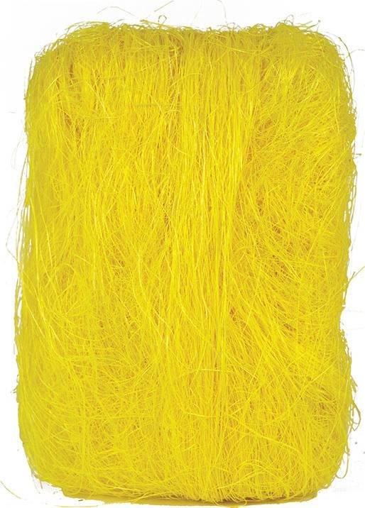 Sisálové vlákno 500g SIS-500-ZLUTA Art