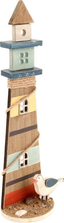 Maják, dřevěná dekorace ZA806880 Art