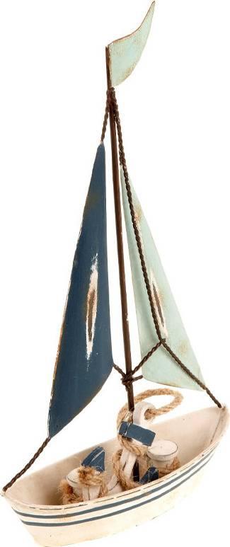 Plachetnice, kovová dekorace ZA806972 Art