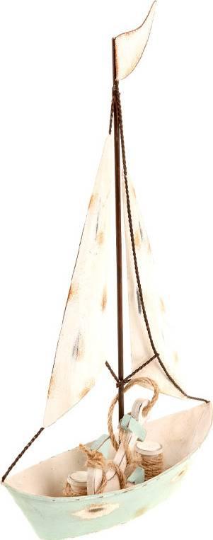 Plachetnice, kovová dekorace ZA806989 Art