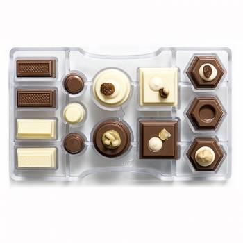 Forma na čokoládu 200x120x22 mm - Decora