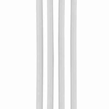 Dlouhé 15cm narozeninové svíčky – bílé - Wilton