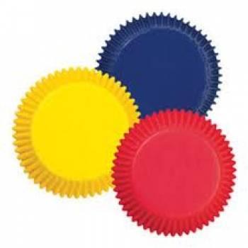 Standardní košíčky v základních barvách 75 ks - Wilton
