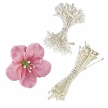180 bílých tyčinek pro květiny - Wilton