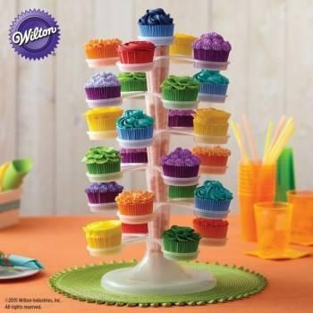 Stojan na cupcakes průhledný - Wilton