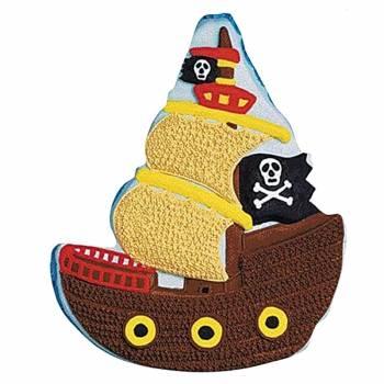Forma na pečení Pirátská loď - Wilton