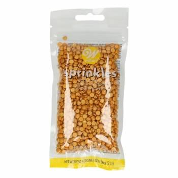 Malé zlaté sypání Confetti - Wilton