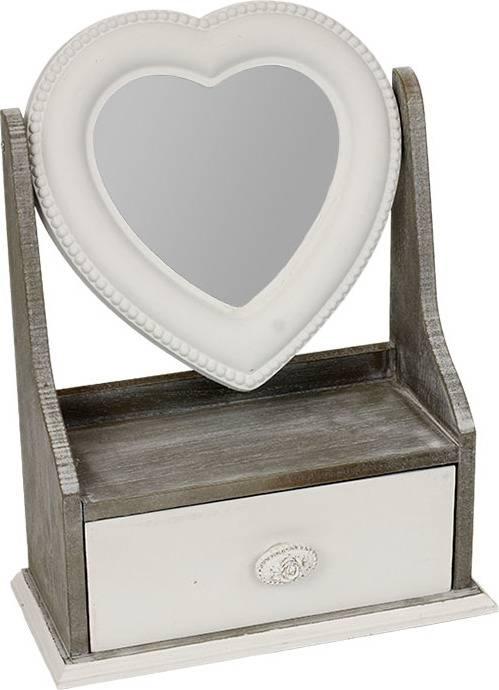 Šperkovnice dřevěná se zrcadlem ARD716394 Art