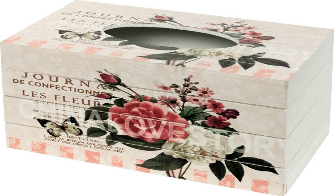 Krabička na kapesníky,MDF KP8733 Art