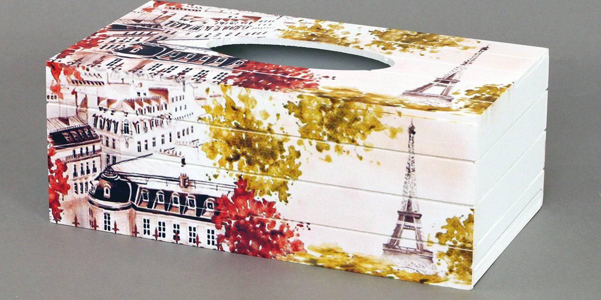 Krabička na kapesníky,MDF KP8754 Art
