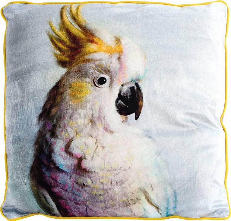 Polštář s výplní. Papoušek. POL509 Art