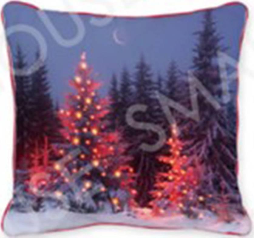 Polštář svítící, s výplní. Vánoční design. LED světlo. POL510 Art