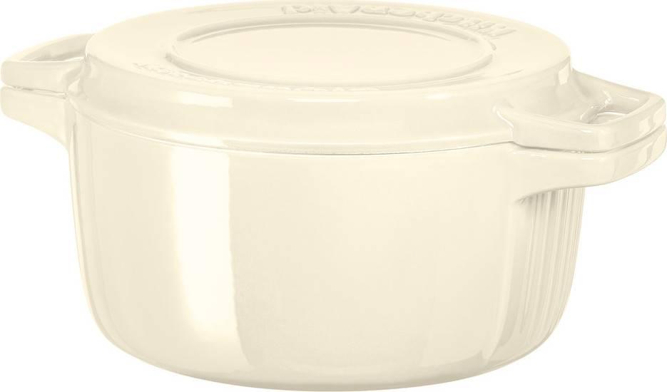 Litinový hrnec 3,8l 24cm mandlová KCPI40CRAC KitchenAid