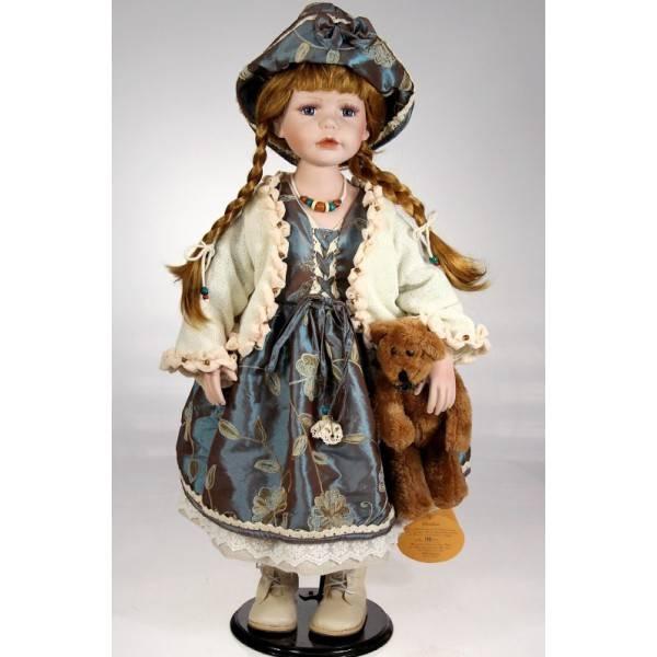Porcelánová panenka Paulina - 68 cm - IntArt