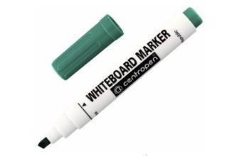 Fix Centropen zelený, popisovač na bílé tabule - Nalepovací tabule