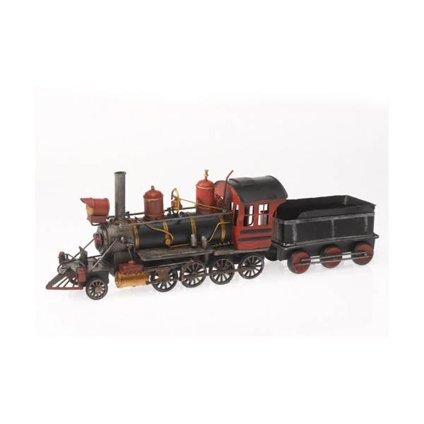 Plechový model lokomotiva s uhlákem 50cm - IntArt