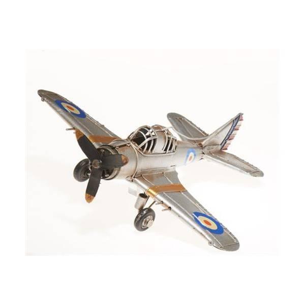 Plechový model letadla 22cm - IntArt