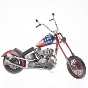 Plechový model motorky chopper USA 41cm - IntArt
