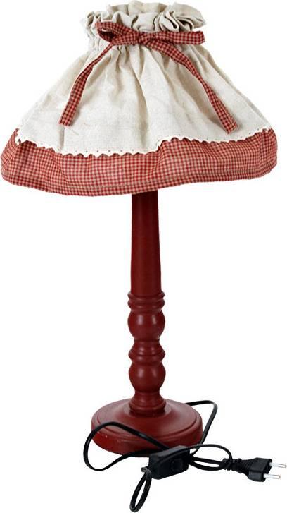 Lampa dřevěná se stínidlem ARD685539 Art