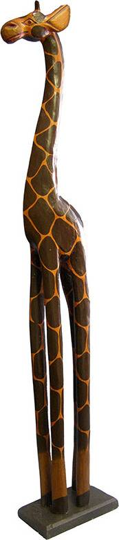 Dřevořezba - žirafa GB2-100 Art