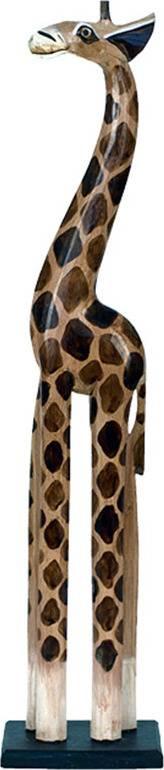 Dřevořezba - Žirafa 80cm IND-OBR010-80 Art