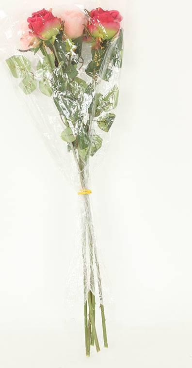 Puget 5ks růží. Květina umělá. J100-5 Art