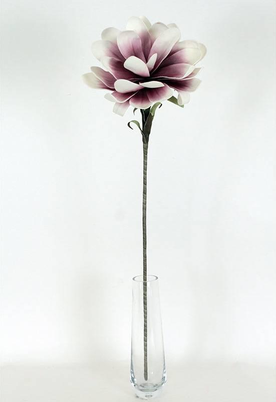 Jiřinka, květ. Květina umělá pěnová. K-011 Art