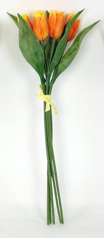 Tulipány puget - plastové dekorační květiny. NL0068 ORA Art