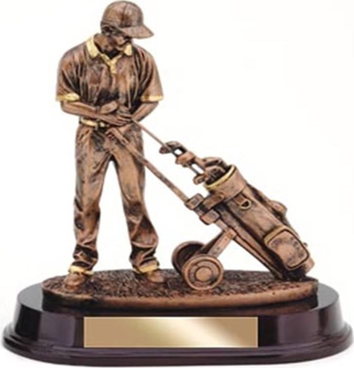 Golfista - polyresin NXT-A275 Art