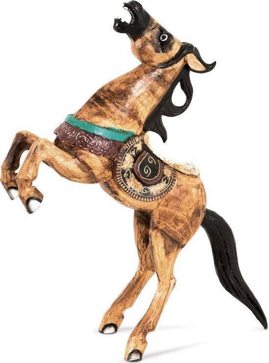 Dřevěný kůň SBT-PPE181 Art