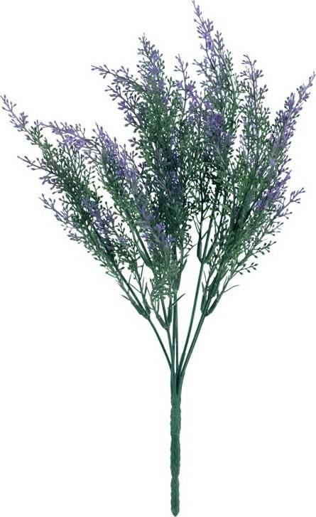 Fotografie Vřes, barva lila. Květina umělá plastová. SG666361 Art