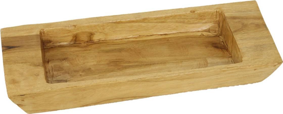 Mísa, dekorační dřevořezba z teakového dřeva WLD160 Art