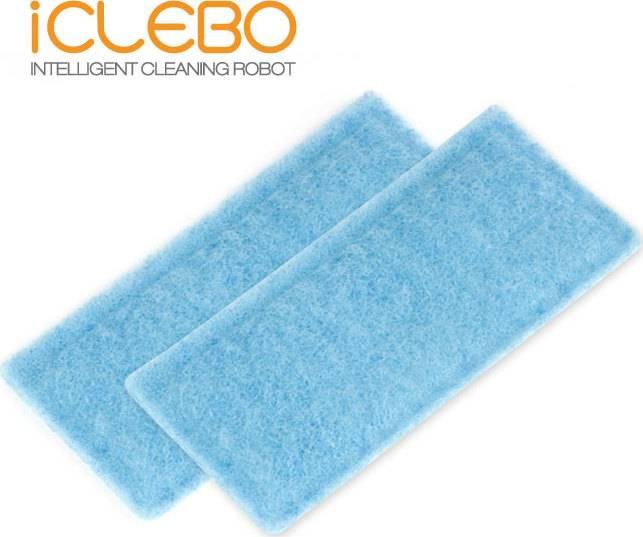antibakteriální HEPA filtr Home, Smart, Plus a (2 ks) YCR011 iClebo