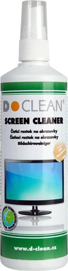 Fotografie Čistící roztok na monitory TFT/LCD/plazma(250ml) 2DCL101 D Clean
