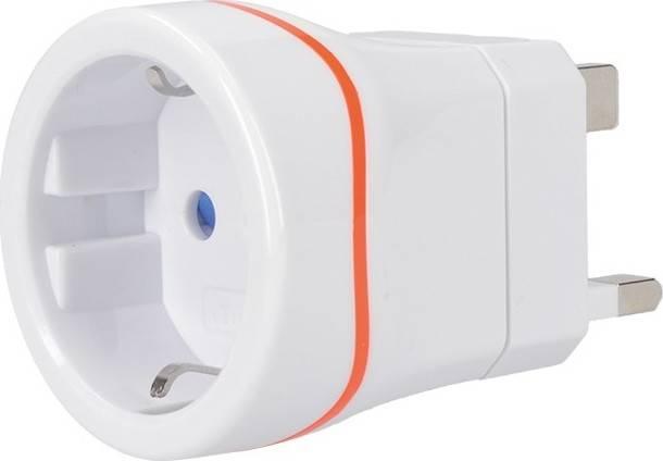 cestovní adaptér pro použití ve Velké Británii PA01-UK Solight