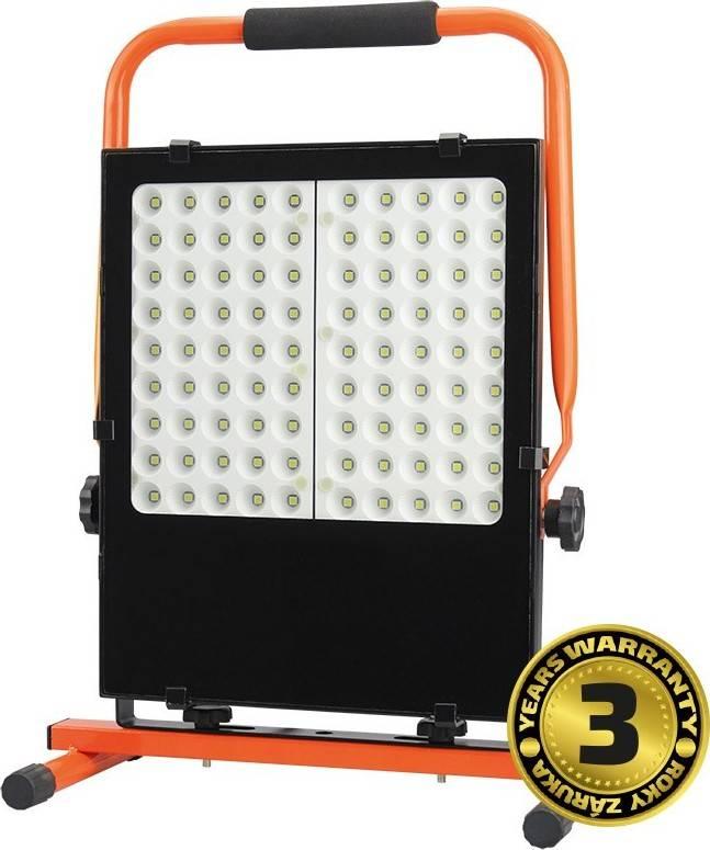 LED venkovní reflektor se stojanem, 100W, 8500lm, kabel se zástrčkou, AC 230V WM-100W-FES Solight