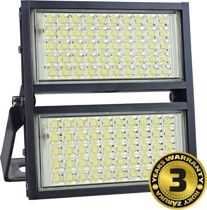 LED venkovní reflektor Pro+, 100W, 11000lm, 5000K, AC 230V, černá WM-100W-P Solight
