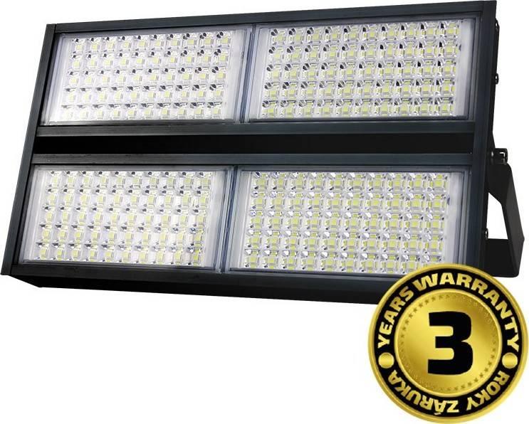 LED venkovní reflektor Pro+, 200W, 22000lm, 5000K, AC 230V, černá WM-200W-P Solight